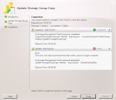 Exchange 2010 Mailbox Database Backup and Restore