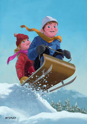 children_on_snow_sleigh