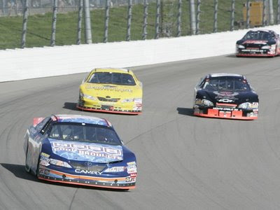 Moses at the Iowa Speedway
