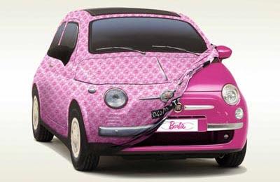 Fiat 500 Barbie Concept, 2009
