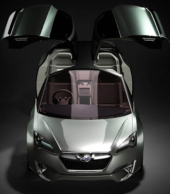 Subaru Hybrid Tourer Concept - technology of