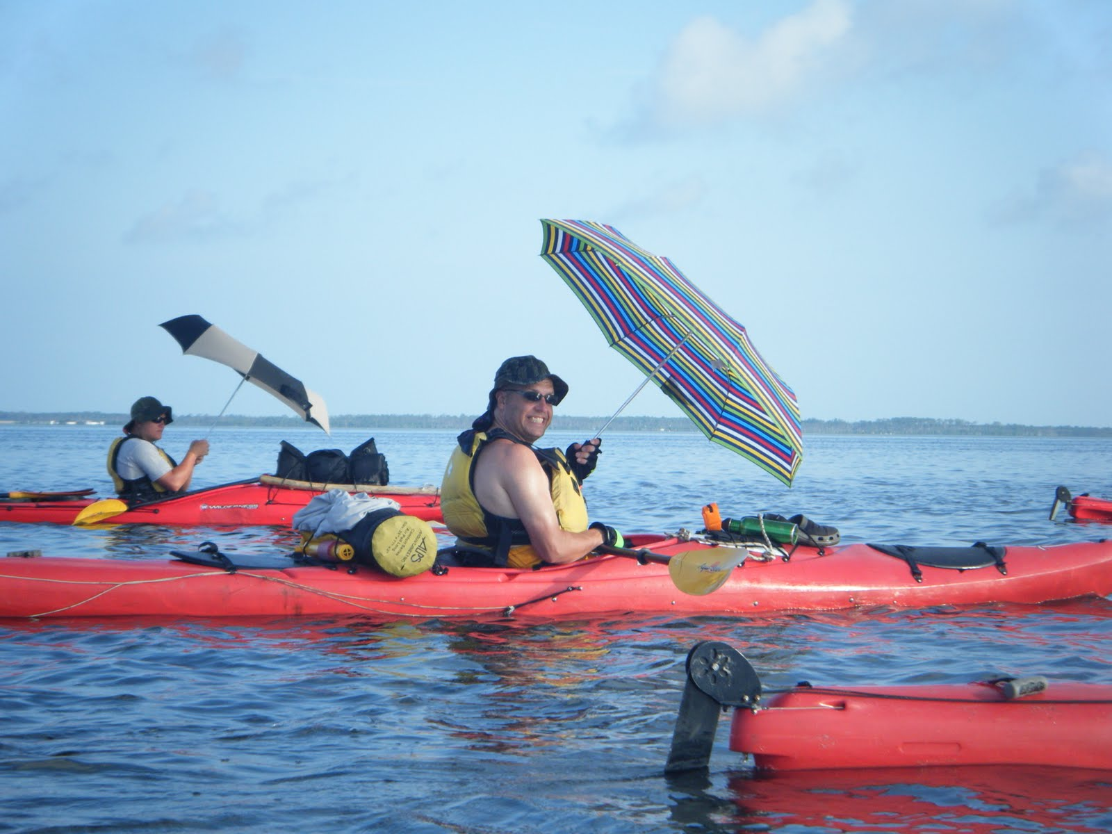 how to use sea kayak rigging