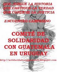 BLOG DEL COMITE DE SOLIDARIDAD CON GUATEMALA EN URUGUAY