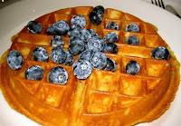 waffle at Isabella's