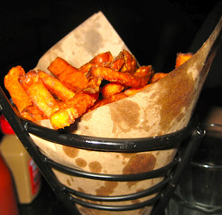 sweet potato fries at The Stand