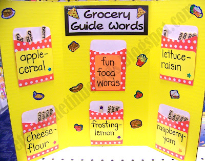 Better Bulletin Boards Grocery Guide Words – Grocery Words
