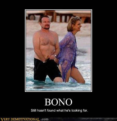 bono still hasn't found what he's looking for
