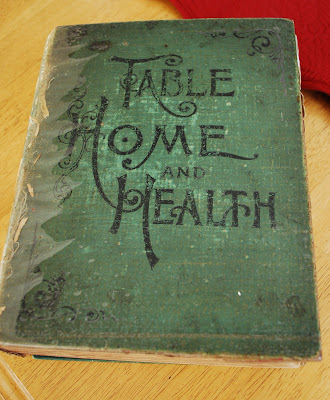 Table Home and Health cookbook