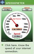 Speed Meter - Internet