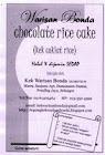 Tepung Kek Coklat Rice