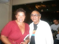 Neca Machado e o expert em produção musical da Amazonia