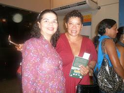 Neca Machado e a poetisa Carla Nobre