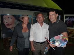 Encontro na 46º Expofeira amigos como o arquiteto Jorge Leal