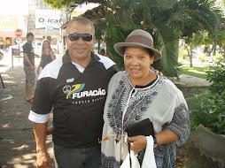 Encontrei em Macapá em 19.06.2010 o ex craque JAIRZINHO
