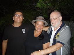 Minha familia, Manfred, e Vicent