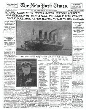 Kradiario el violinista del titanic y el capitalismo