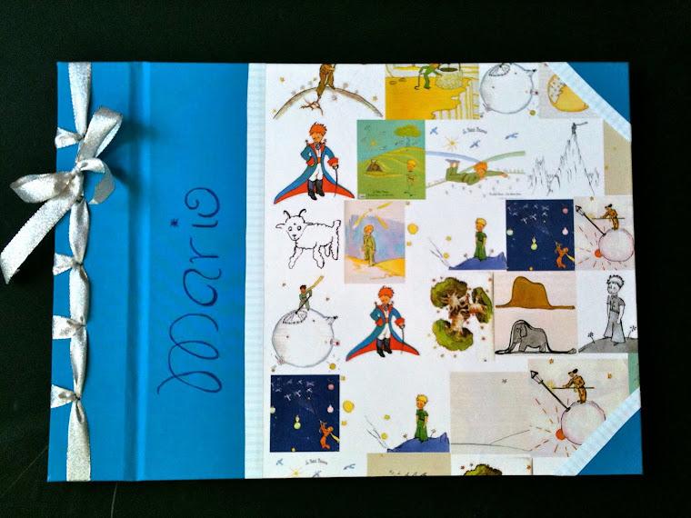 Libro firmas y fotos Principito
