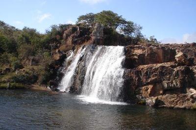 Cascata do Barão,Rio Capão em Gouveia