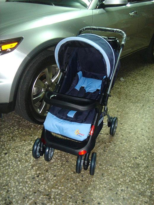 baby's new ride