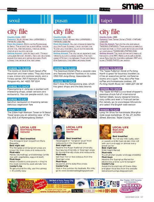 musings on taiwan cebu air's in-flight magazine