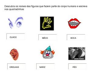 Slide em ATIV   16   OS SENTIDOS Atividades 5 Sentidos   Ciências Naturais
