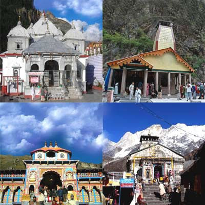 Char Dham Gangotri Yamunotri Badrinath Kedarnath
