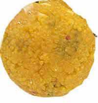 Laddu made of besan, sugar, oil, cardamom and dry fruits