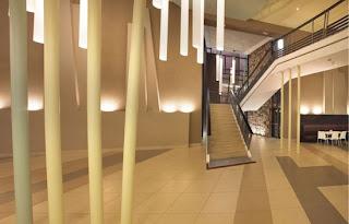 Африкански дизайн краси офис сграда в Йоханесбург