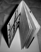 vista de cima do livro
