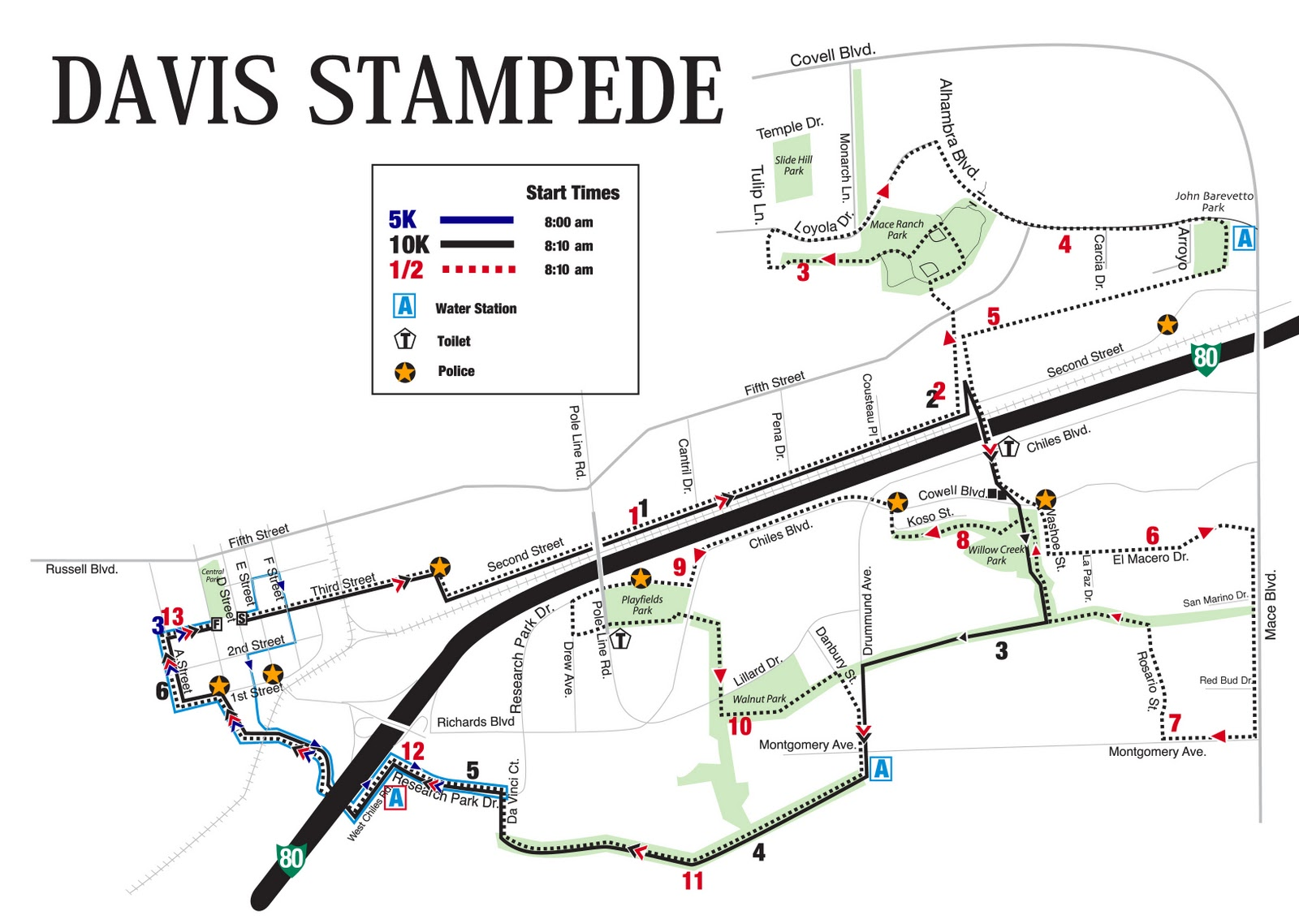 How Much Is A Mile >> Make A Run For It Davis Stampede Half Marathon Race Report