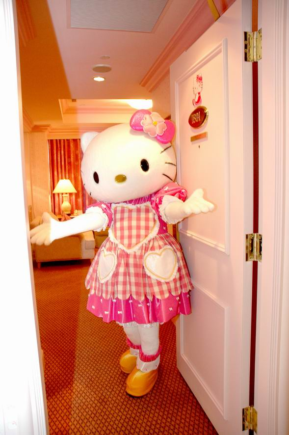 Hello Kitty Hotel In Taiwan. termasuklah Hello Kitty
