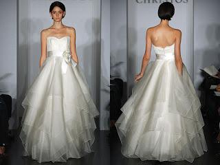 Christos wedding gown