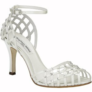 bridal shoes with crystal accents
