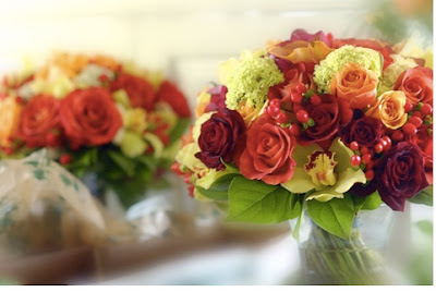 fall bridal bouquets