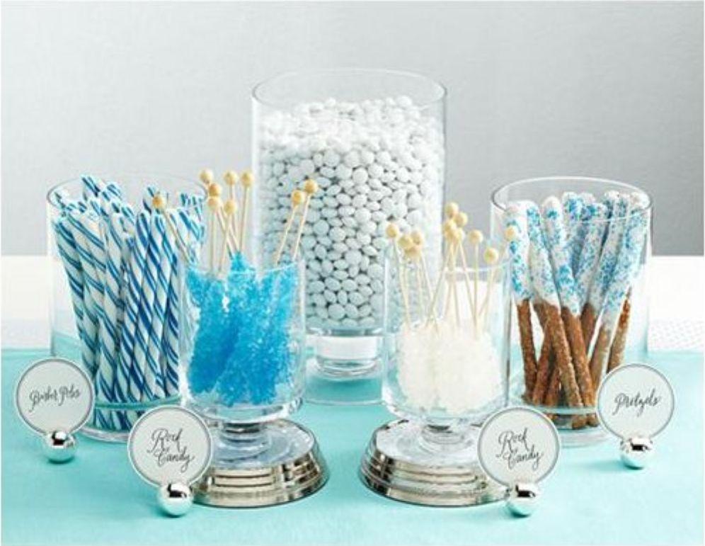 Beautiful Bridal Wedding Candy Buffets