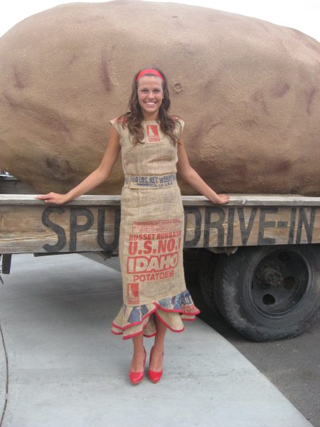 Famous Potato Sack Dress