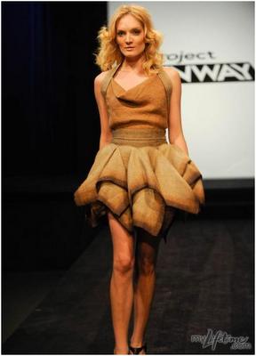 potato boutique quotpotato sackquot dresses on project runway