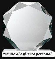 Premio al Esfuerzo Personal.