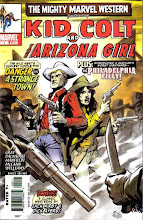 KID COLT and the ARIZONA GIRL
