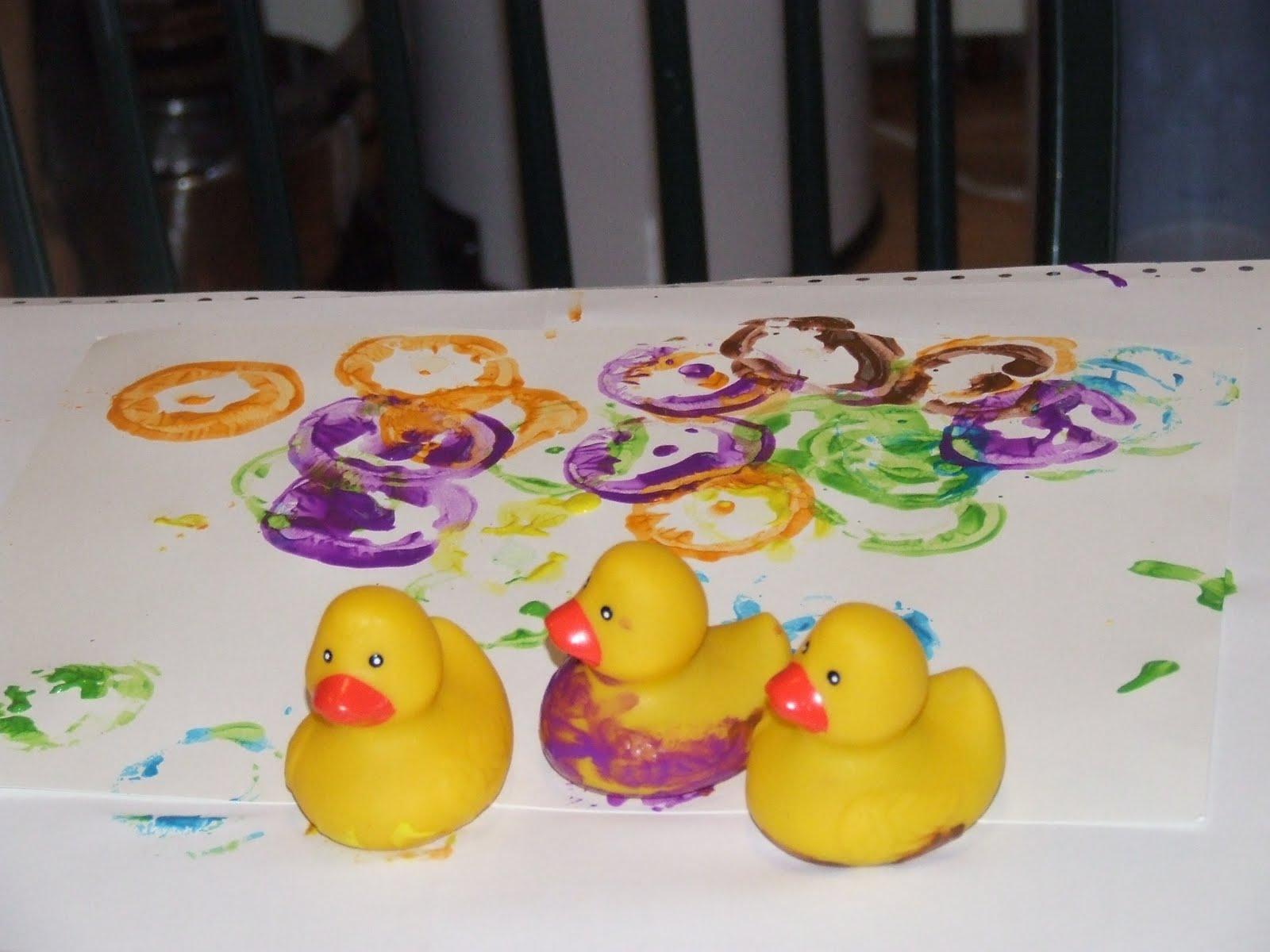 10 little rubber ducks story pdf