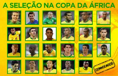 A Seleção na Copa da África