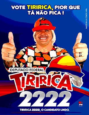 O voto em Tiririca - Por Marcondes Rosa de Sousa / Fortaleza