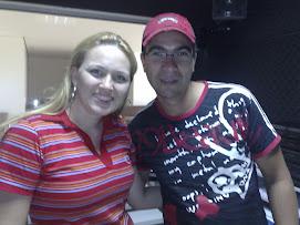 Juliana Lunardelli e DJ Daniel de Oliveira
