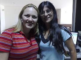 Juliana Lunardelli e Rosangela Duran