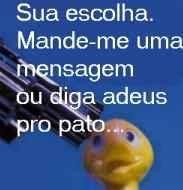 SALVE O PATO!!!