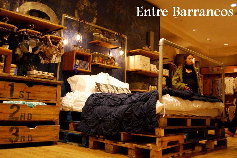 Cama Pallets, Con Palet, Decoracion Economica, Pallets Beds, Gratis