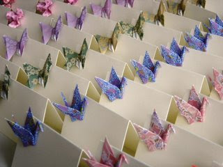 Origami wedding on pinterest origami cranes paper for 1000 paper cranes wedding decoration