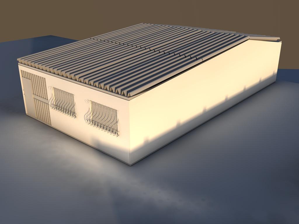 Mirg casa exterior y una parte de interior for Exterior y interior