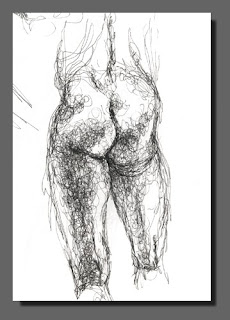 Life Study Scribble 1, Dee Overly