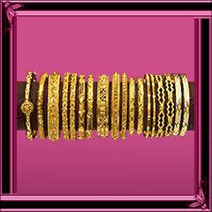 Gold Bangles Design